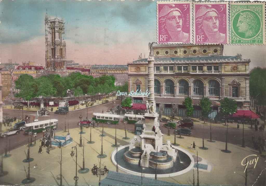 Guy 843 - Paris et ses Merveilles - Place du Châtelet