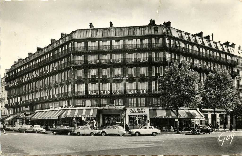Guy - HOTEL TERMINUS-NORD, 12, boulevard Denain