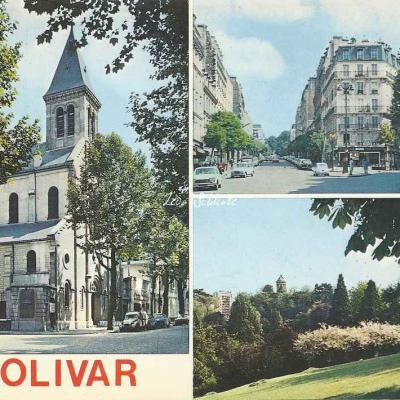 Guy OC 5 404 - Eglise St-Georges, Tabac Bolivar et Parc