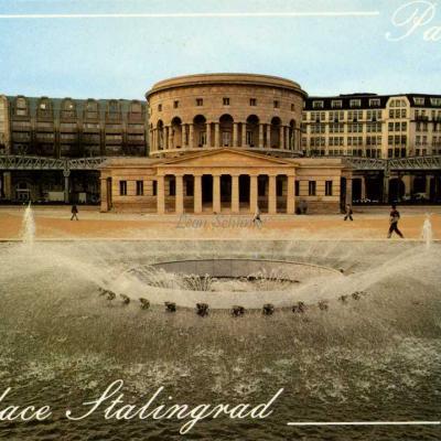 Guy - Place Stalingrad, Esplanade et Rotonde de la Villette