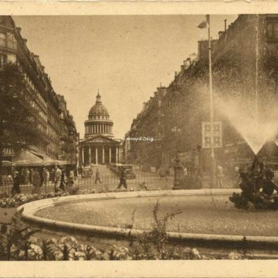 H. 751 - Place Edmond-Rostand - Rue Soufflot et le Panthéon