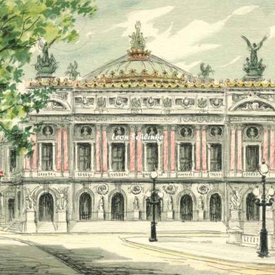 Barré-Dayez - Série 2359 - PARIS, l'Opéra