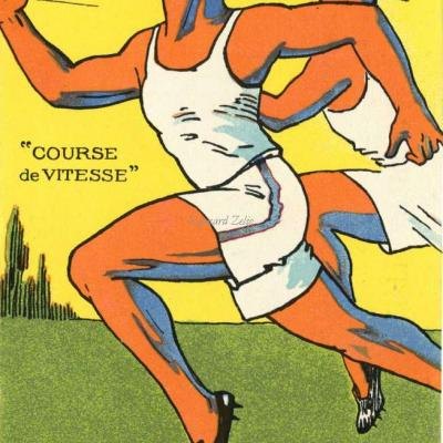 H.L. Roowy - Jeux Olympiques 1924 - COURSE DE VITESSE