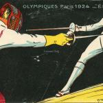H.L. Roowy - Jeux OLympiques 1924 - EPEE
