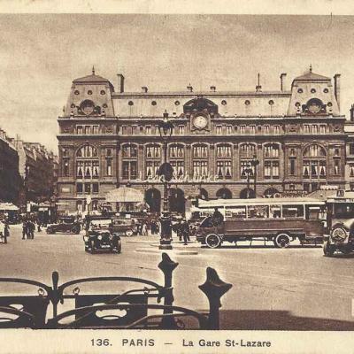 Harmignies E. 136 - La Gare St-Lazare