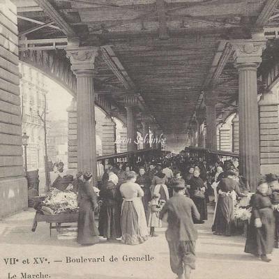 HF 1 - Boulevard de Grenelle, le Marché