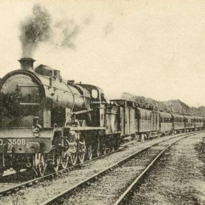 HMP - 13 - Réseau d'Orléans - Le rapide de Bordeaux vers 1913 (Pacific 3508)