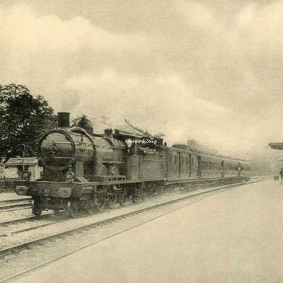 HMP - 31 - Réseau d'Orléans - Le Sud-Express à 110 km·h. Juvisy à Etampes (Atlantic 3000)