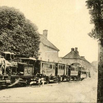 HMP - 93 - Réseau de l'Est - Le trai de Bondy à Livry-Gargan en 1900