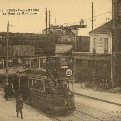 Hordé J. 10 - Nogent sur Marne - Le Pont de Mulhouse