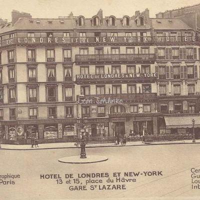 Hôtel de Londres et New-York - Gare St-Lazare