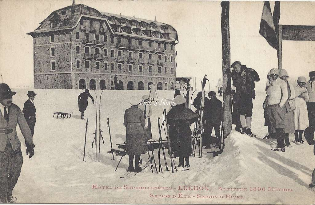 Hôtel de Superbagnères - Luchon