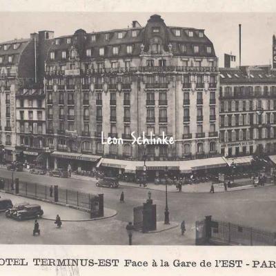 Hôtel Terminus Est, 5, rue de Strasbourg