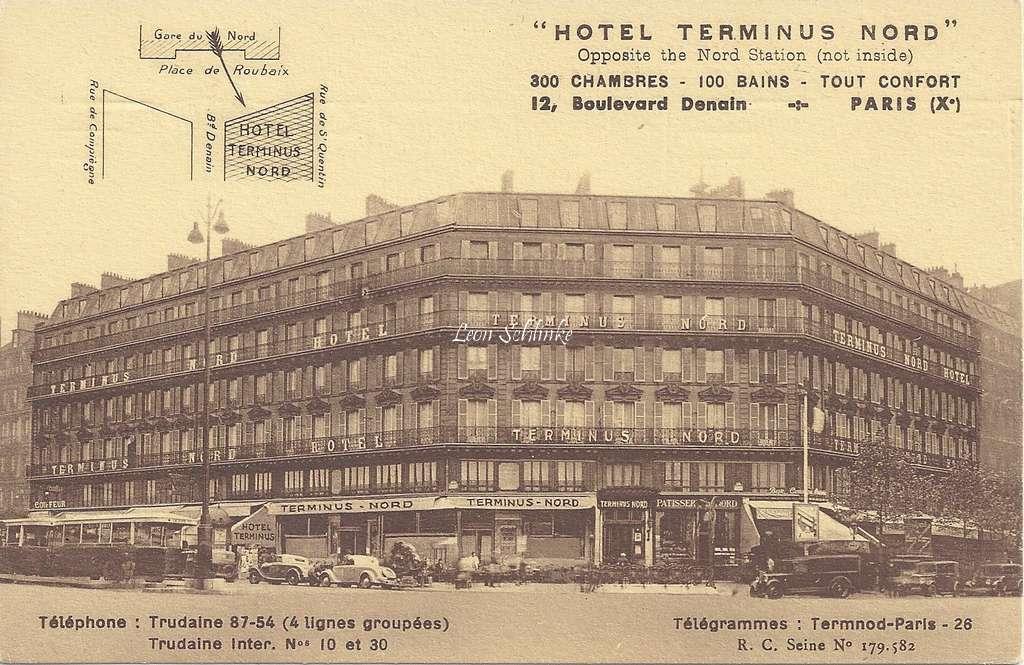 Hôtel Terminus Nord, 12 Bd Denain