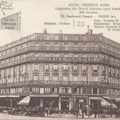 Hôtel Terminus Nord , 12 Bd Denain