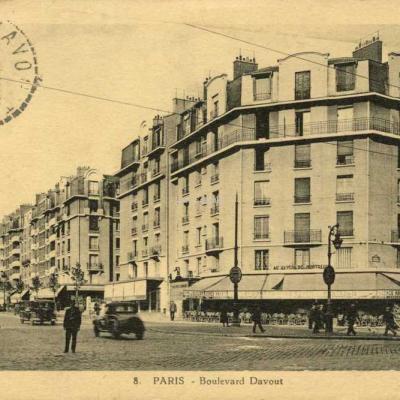 Houdart 8 - PARIS - Boulevard Davout