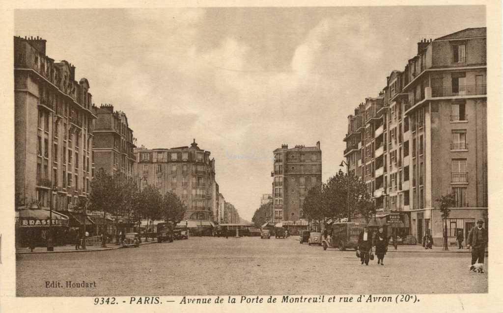 Porte de montreuil - Avenue de la porte de montrouge ...