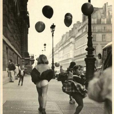 Humour à la Carte P 491 - Rue de Rivoli en 1984