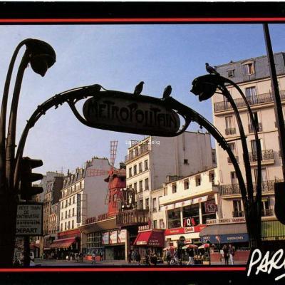 Image'in 7510102505 - Paris - le Moulin Rouge