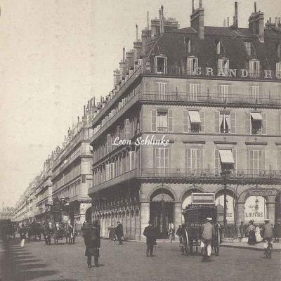 Inconnu - 10 - Place des Pyramides et Rue de Rivoli