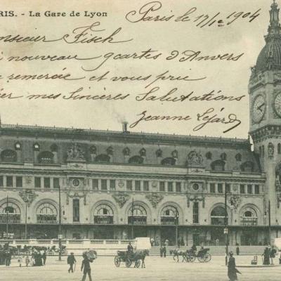 Inconnu 114 - La Gare de Lyon