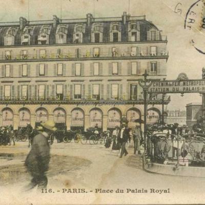 Inconnu 116 - Place du Palais Royal