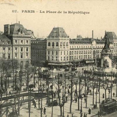 CM 117 - PARIS - La Place de la République