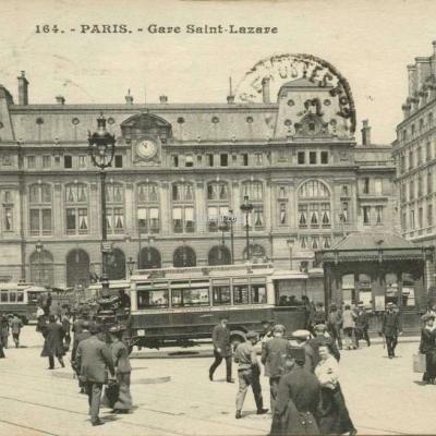 Inconnu 164 - PARIS - Gare Saint-Lazare