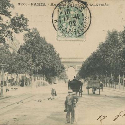 Inconnu 320 - PARIS - Avenue de la Grande-Armée