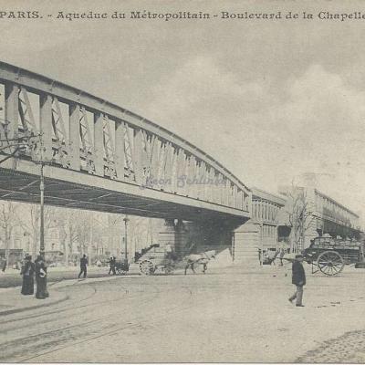Inconnu 407 - Aqueduc du Métropolitain - Boulevard de la Chapelle