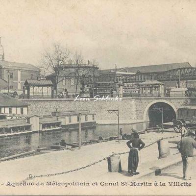 Inconnu 409 - Aqueduc du Métro et Canal St-Martin