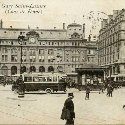 Inconnu 42 - Gare Saint-Lazare (Cour de Rome)