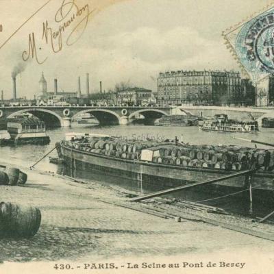 Inconnu 430 - La Seine au Pont de Bercy