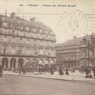 Inconnu - 48 - Place du Palais Royal