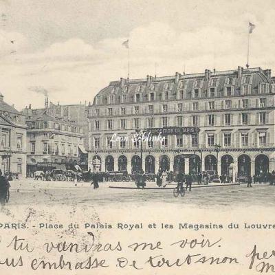 Inconnu - 5059 - Place du Palais Royal et les Magasins du Louvre