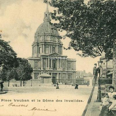 Inconnu 5060 - Place Vauban et Dôme des Invalides