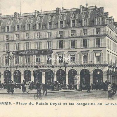 Inconnu - 5224 - Place du Palais Royal et les Magasins du Louvre