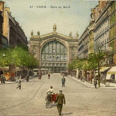 Inconnu 67 - PARIS - Gare du Nord