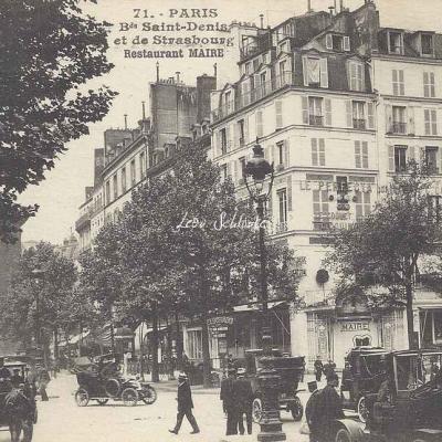 Inconnu 71 - Bds Saint-Denis et de Strasbourg