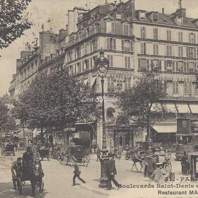 Inconnu 71 - Boulevards Saint-Denis et de Strasbourg