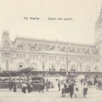 Inconnu 76 - Gare de Lyon