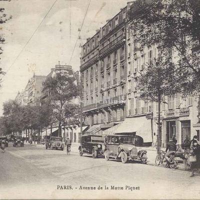 Inconnu - Avenue de la Motte-Piquet