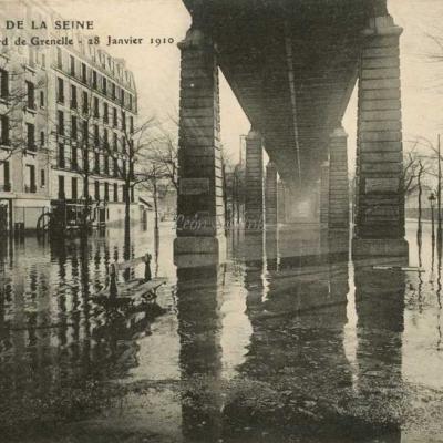 Inconnu - Boulevard de Grenelle - 28 Janvier 1910