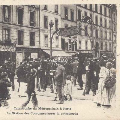 Inconnu - Catastrophe 1903 - La Station après la catastrophe