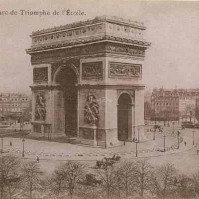 Inconnu - L'Arc de Triomphe de l'Etoile