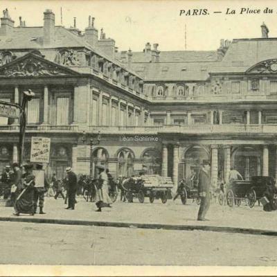 Inconnu - La Place du Palais Royal