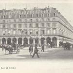 Inconnu - La Rue de Rivoli