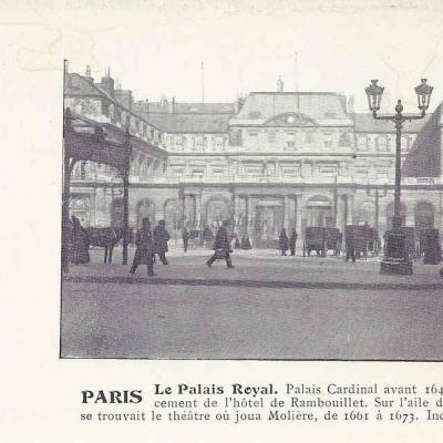 Inconnu - Le Palais Royal, Palais Cardinal avant 1643...