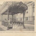 Inconnu - Paris - Chemin de Fer Métropolitain - Entrée de la station