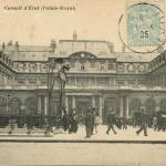 Inconnu - PARIS - Conseil d'Etat (Palais-Royal)